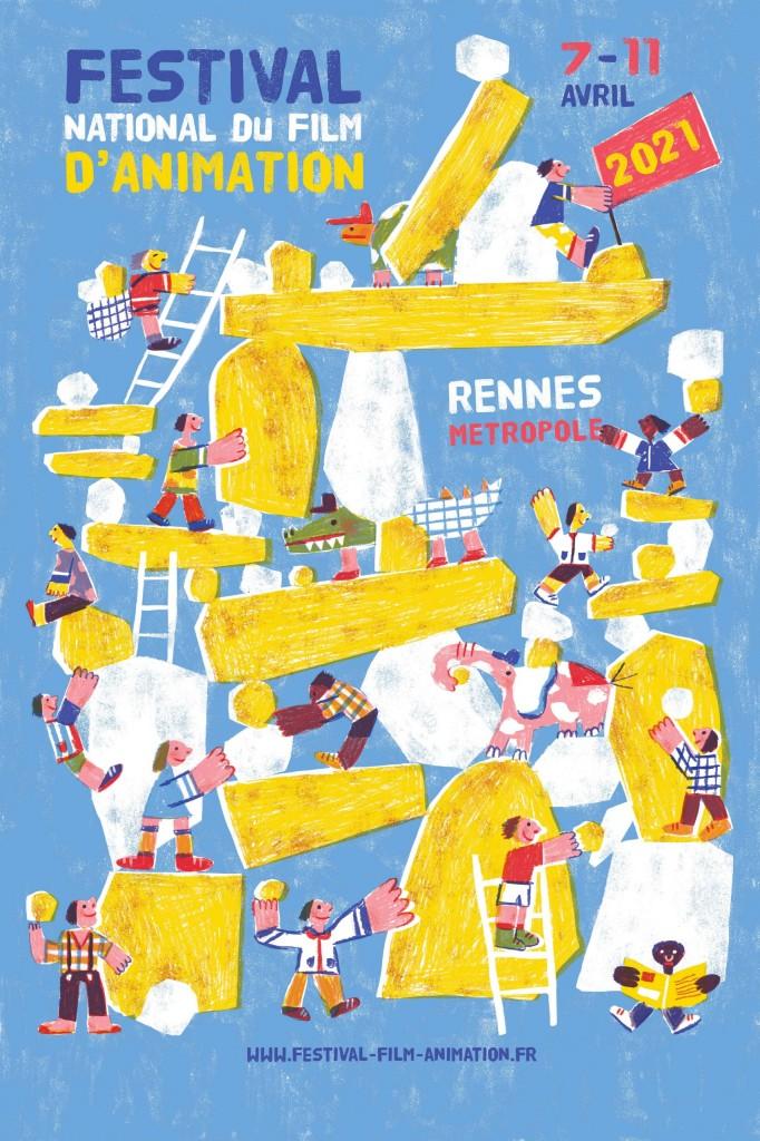 Affiche Festival National du Film d'Animation 2021