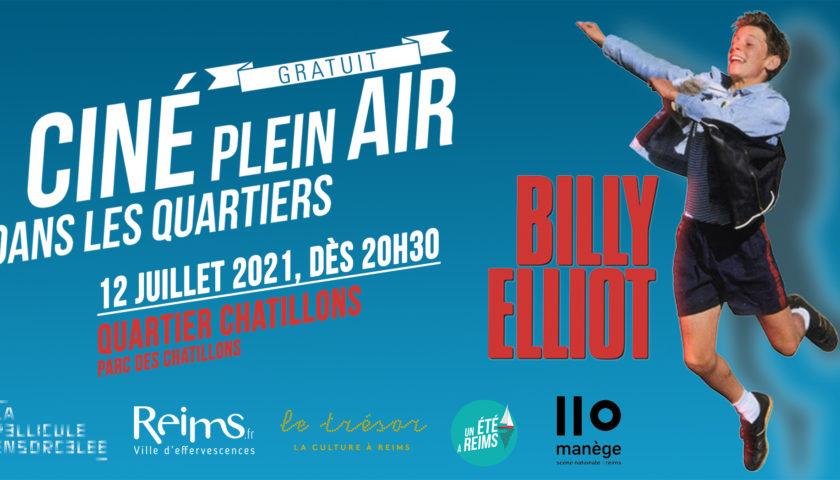 Bannière Ciné Plein Air Billy Elliot