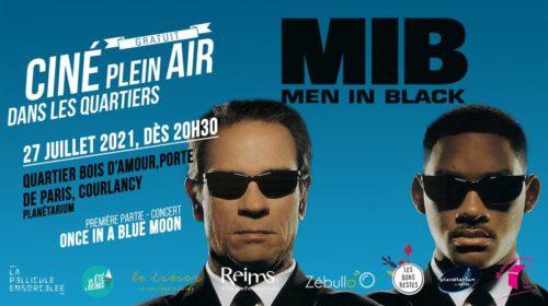 Bannière Ciné Plein Air Men in Black
