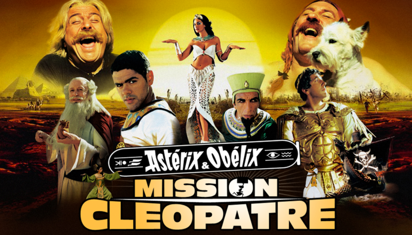 Bannière Ciné Plein Air Astérix et obélix Mission Cléopâtre