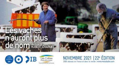 Bannière mois du doc Les vaches n'auront plus de nom