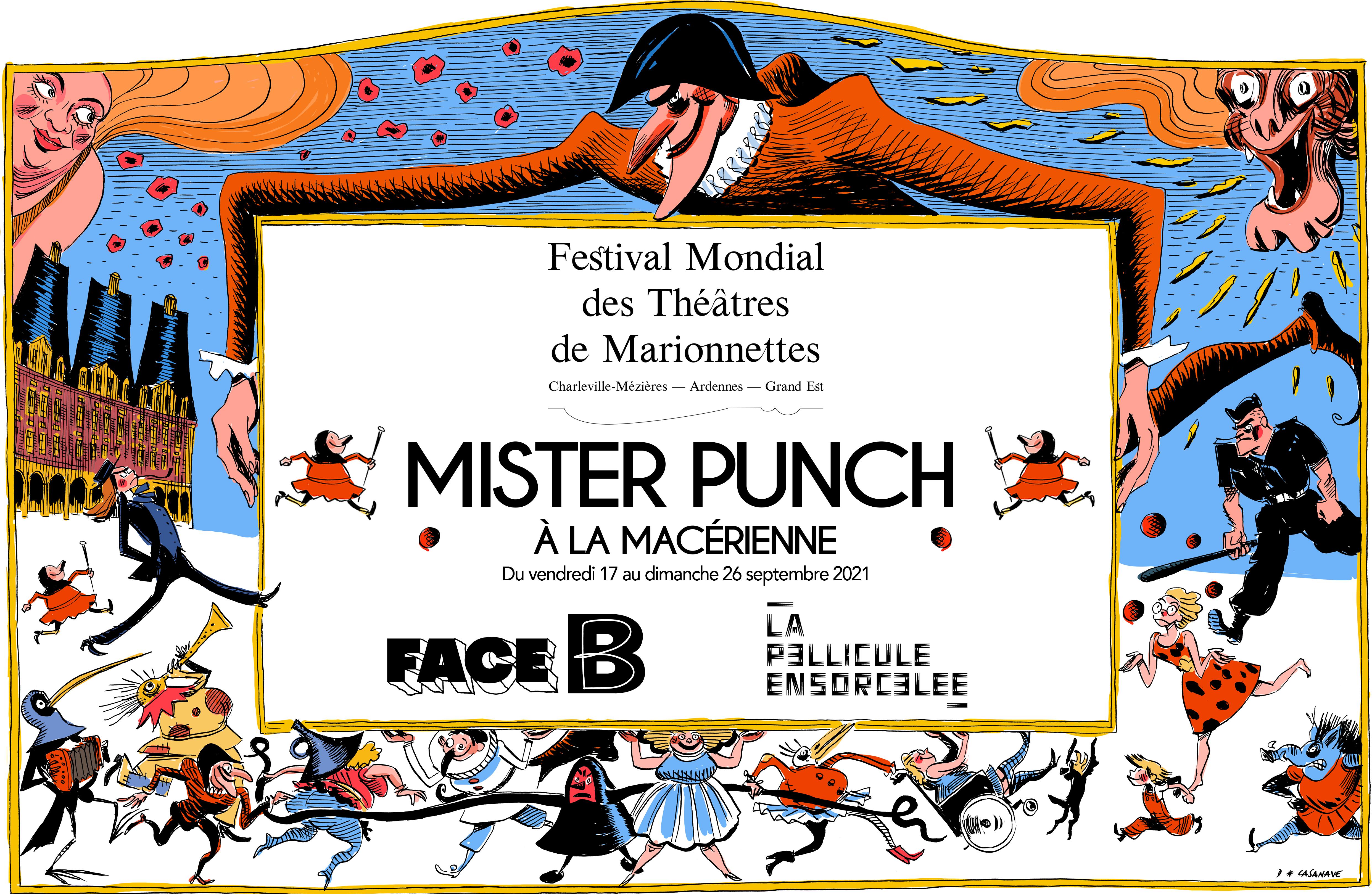 Bannière Mister Punch à la Macérienne